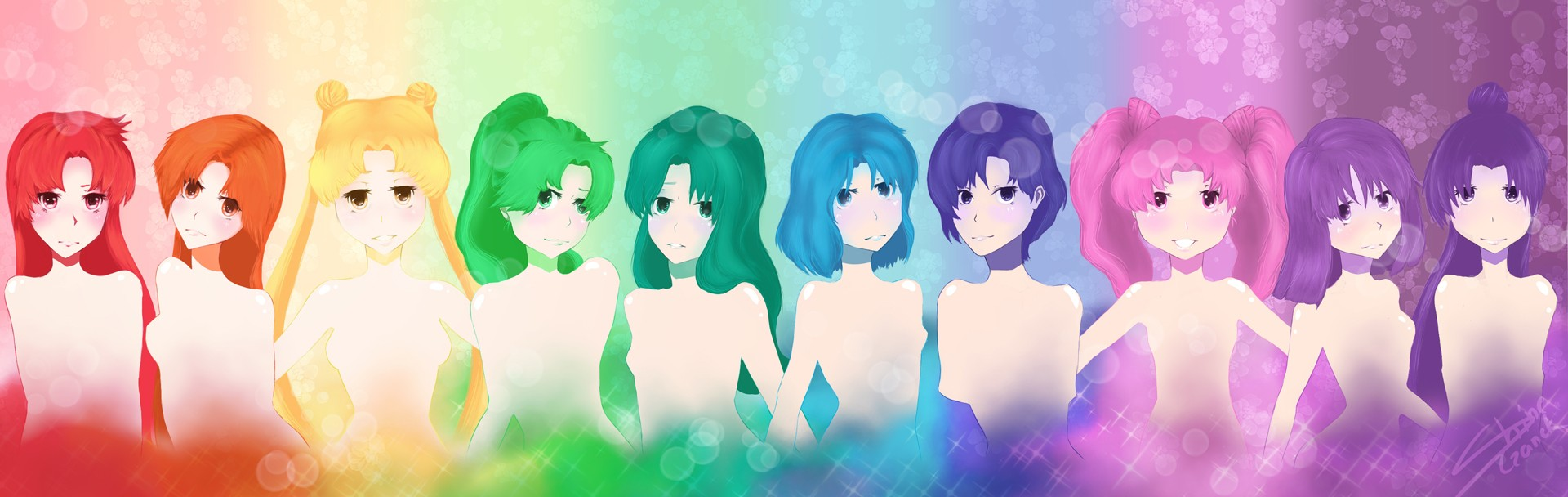 Sailor Moon Rainbow