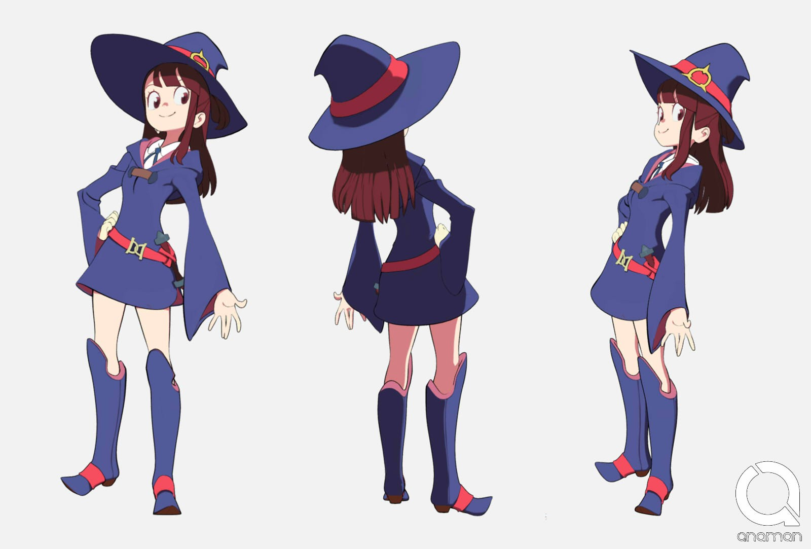 Little witch academia - Akko model 3d