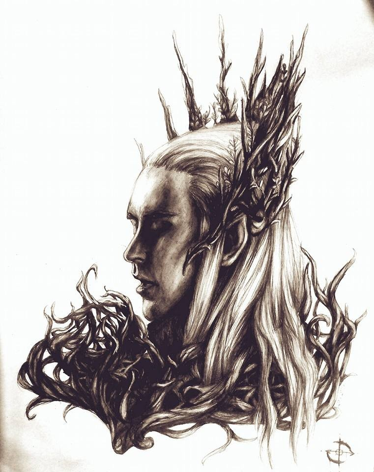 Thranduil by GrotesqueSky