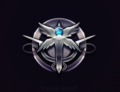 Angel Logo by FeistyGraphic