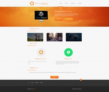 ShineWeb - redesign by damson