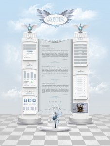 Heaven Layout by FeistyGraphic