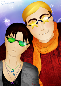 Smile, Rivaille, smile by Kalterijate