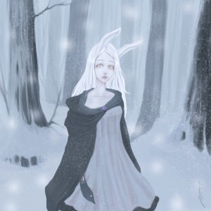 The Lost White Rabbit by Joviri