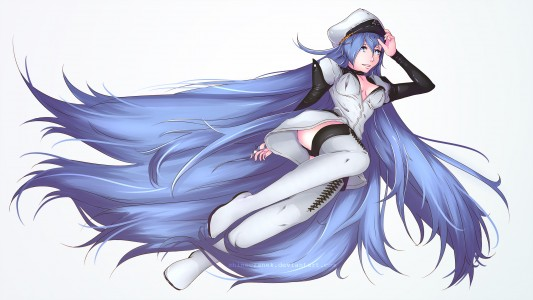 Esdeath - Anime Akame ga Kill! FanArt by ShineCzanek
