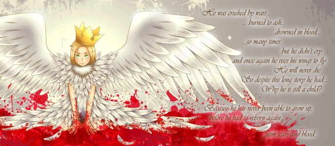 White as scars red as blood by Nichirin