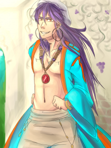 Sinbad again by lillsurm