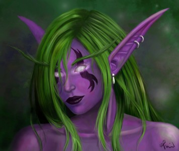 Night Elf by Thiii