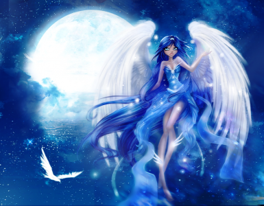 Blue Night by Nagashia