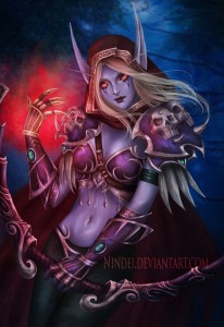 Sylvanas Windrunner by Nindei