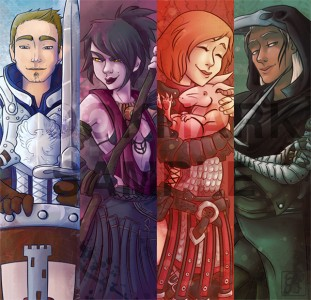 Dragon Age Origins by Quarval