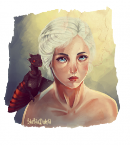 Mother of Dragons by RinRinDaishi