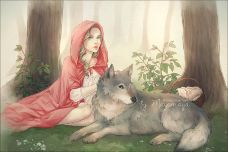 Red Riding Hood by Mayemaya