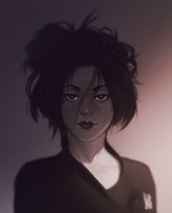 Messy hair by mkw1991