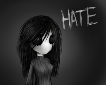 Hate by Rossali