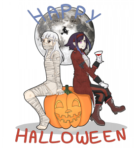OC Halloween 2013 by Miyotan
