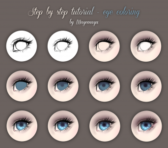 Eye tutorial by Mayemaya