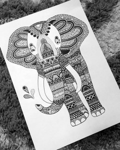 Elephant by Evelainaa