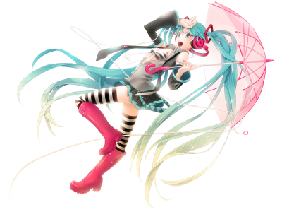 Miku render by Minos