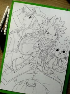 Fairy Tail WIP by Madie