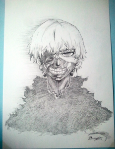 Kaneki Ken by Aches