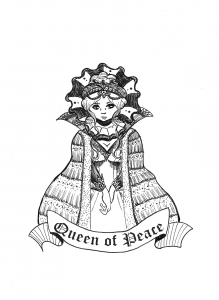 Daily Sketch - Queen of Peace