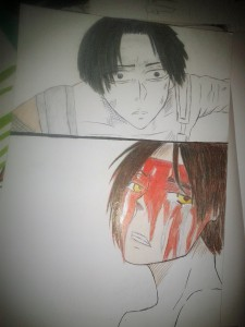 Levi and Eren by Alex35170