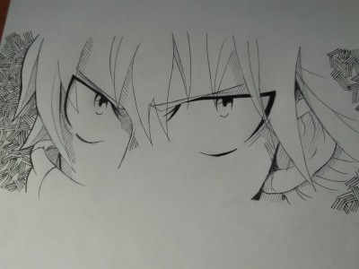 Dragneel eyes by BK201