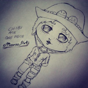 Chibi Ace by Mars