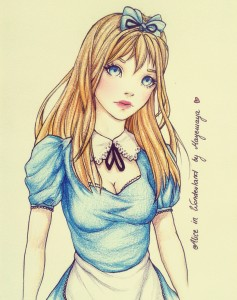 Alice in Wonderland by Mayemaya