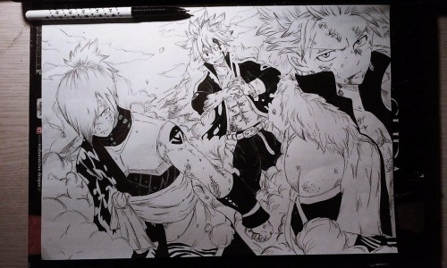 Fairy Tail (WIP) by Olinek
