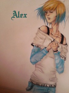 OC Alex by Mars