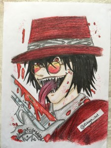 Alucard - Hellsing Ultimate by zisuya