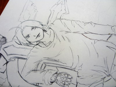 Edward Elric WIP by Mars