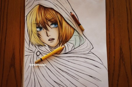 Armin progress by senmetsu