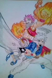 Fairy Tail x Rave Master by Olinek
