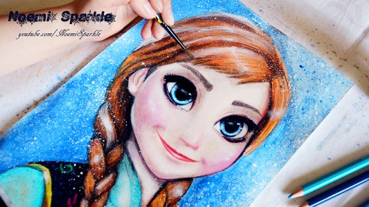 Anna Frozen art by noemisparkle