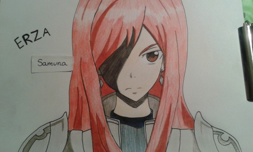 Erza by Samuna