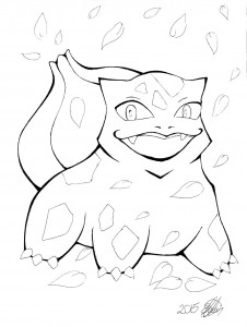 Bulbasaur (wip) by Insha