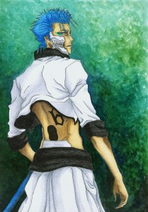Grimmjow by Shiromishi