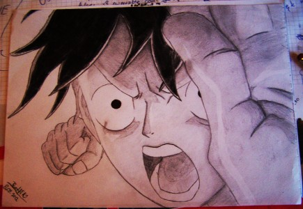 Luffy Gear Second by Barttik