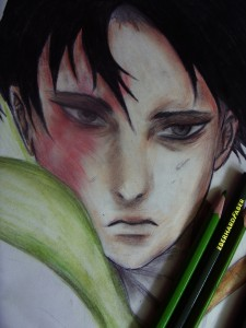 Levi (WIP 2) by Mars