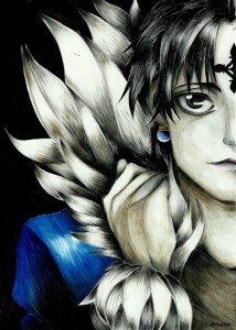 Chrollo Lucilfer by Madlen