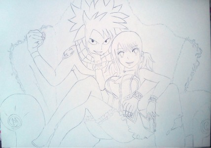 Nalu - lineart by joproxyz