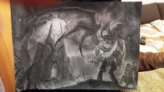 Illidan Stormrage World of Warcraft by ayumidraco