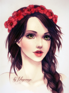 Poppies by Mayemaya