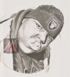 Notorious BIG by bjuriQuinn