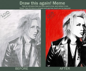 Draw this again - Ruki by KirieSempai