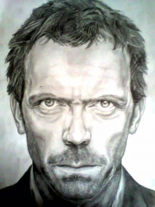 Hugh Laurie by Kicak