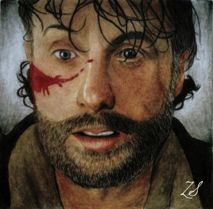 Rick Grimes (The Walking Dead) by ZsArtworks